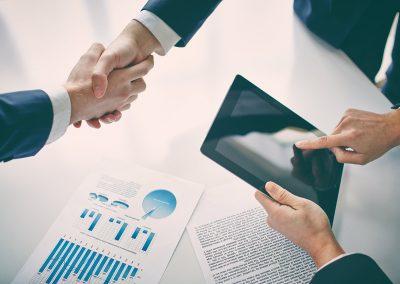 Attivazione e gestione rete commerciale di società gestita
