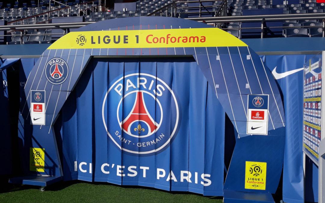 Il 5G debutta nel calcio con il Paris Saint Germain